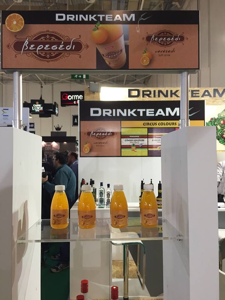 """@FoodExpo 2016, presentation of the new greek softdrink """"Veresedi"""" Brand & label by I. Aravantinou. Manufactured and bottled by """"Drinkteam"""" , +30 22950 41226"""