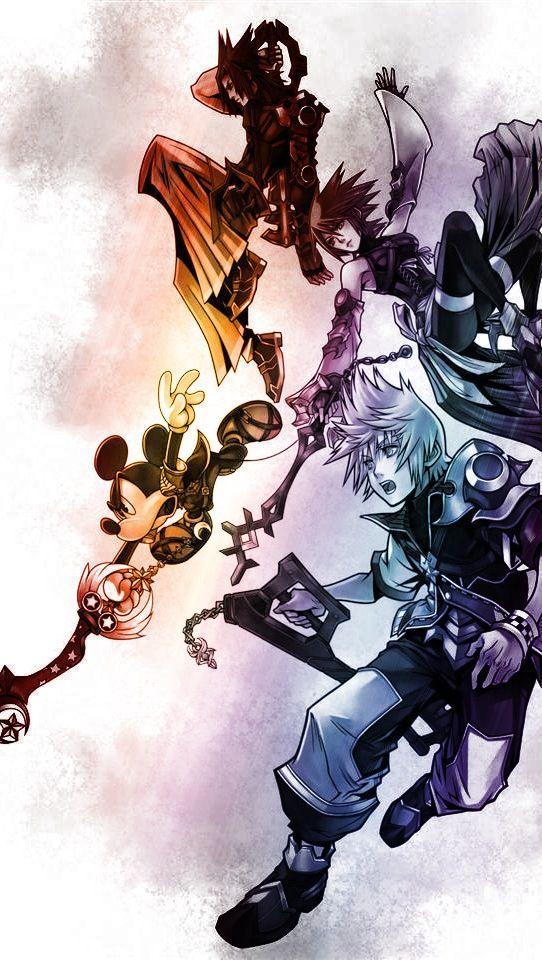 Playstation psp game kingdom hearts birth by sleep new