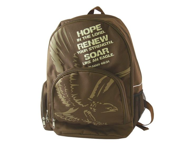 Backpack - Hope, Renew, Soar (Isaiah 40:31)