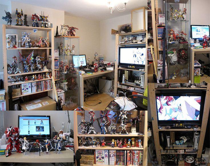 mejores 10 im genes de anime otaku rooms en pinterest