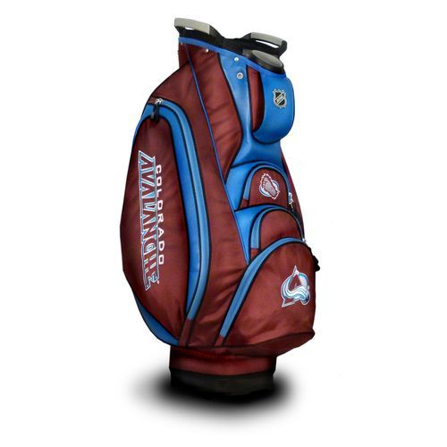 Team Golf Colorado Avalanche Victory Cart Golf Bag - Golf Equipment, Collegiate Golf Products at Academy Sports