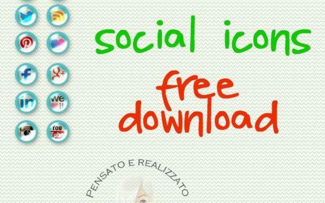 Set complato delle più popolari icone sociali di social network scaricabili g - Social button free download #icone #button #social #socialnetwork