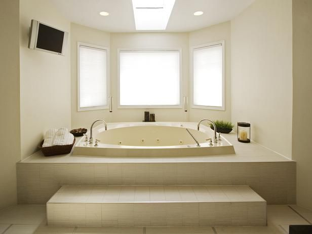 Two Person Jacuzzi A Two Person Jacuzzi Tub And A Muted Color Palette Turn