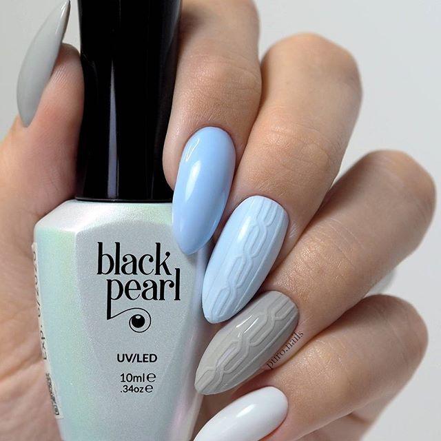 bpnails.pl colors: 57,86,38,50   Black Pearl  #nailart #nailsoftheday #nails #nail #hybrydnails #hybrydymanicure #kochampaznokcie #instanail #nails2inspire #paznokciehybrydowe  #paznokcie  #nailartist_manicure #nails #nailswag #gelnails #winternails #nailru #nailstagram  #nailitdaily #nailpro #swetereknapaznokciach #instagramnails  #beautifulnails #trna #livelovepolish  #bpnails #pastelnail #christmasnails #zimowepaznokcie