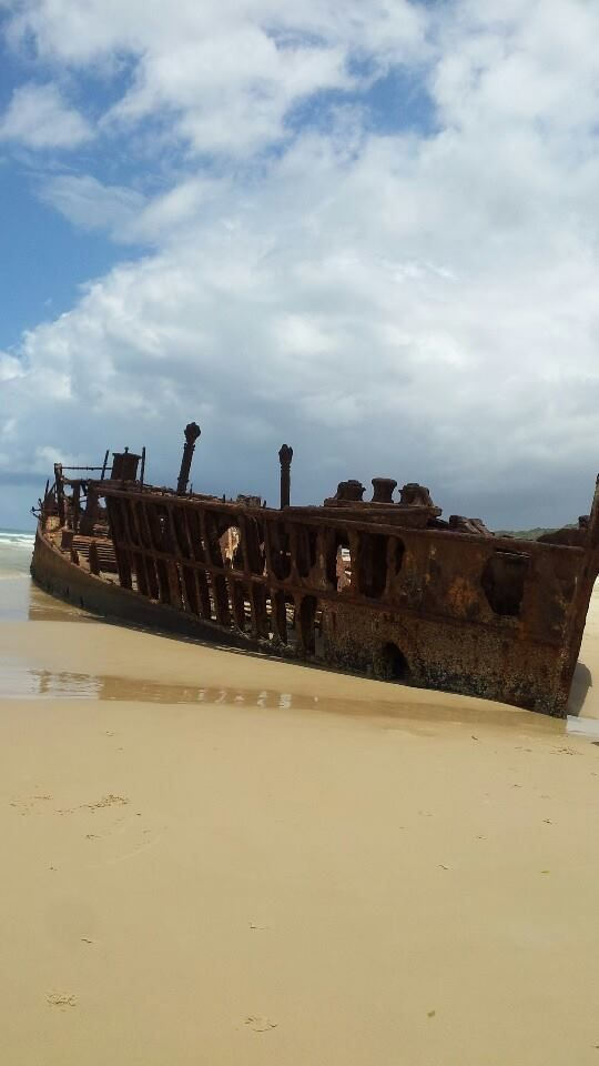 Thanks to Naomi Faith Eleanor for this share on our Facebook page recently... #fraserbarges #fraserisland #queensland #australia www.fraserislandferry.com.au