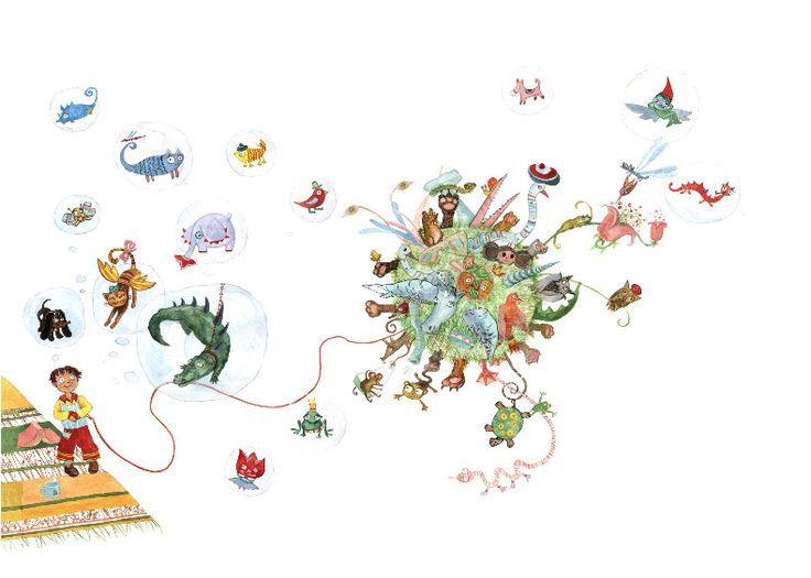 Colorhood - Hans' Machines by Cristiana Radu