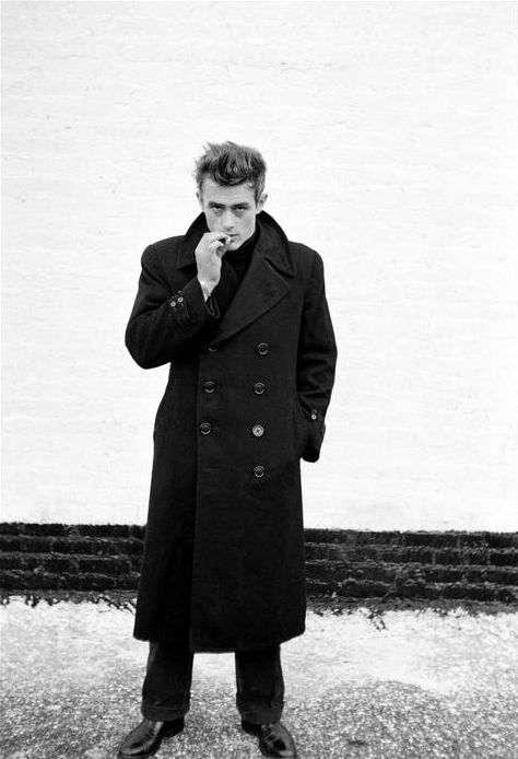 James Dean. Damn shame. Froze his image in a pretty flawless place though.