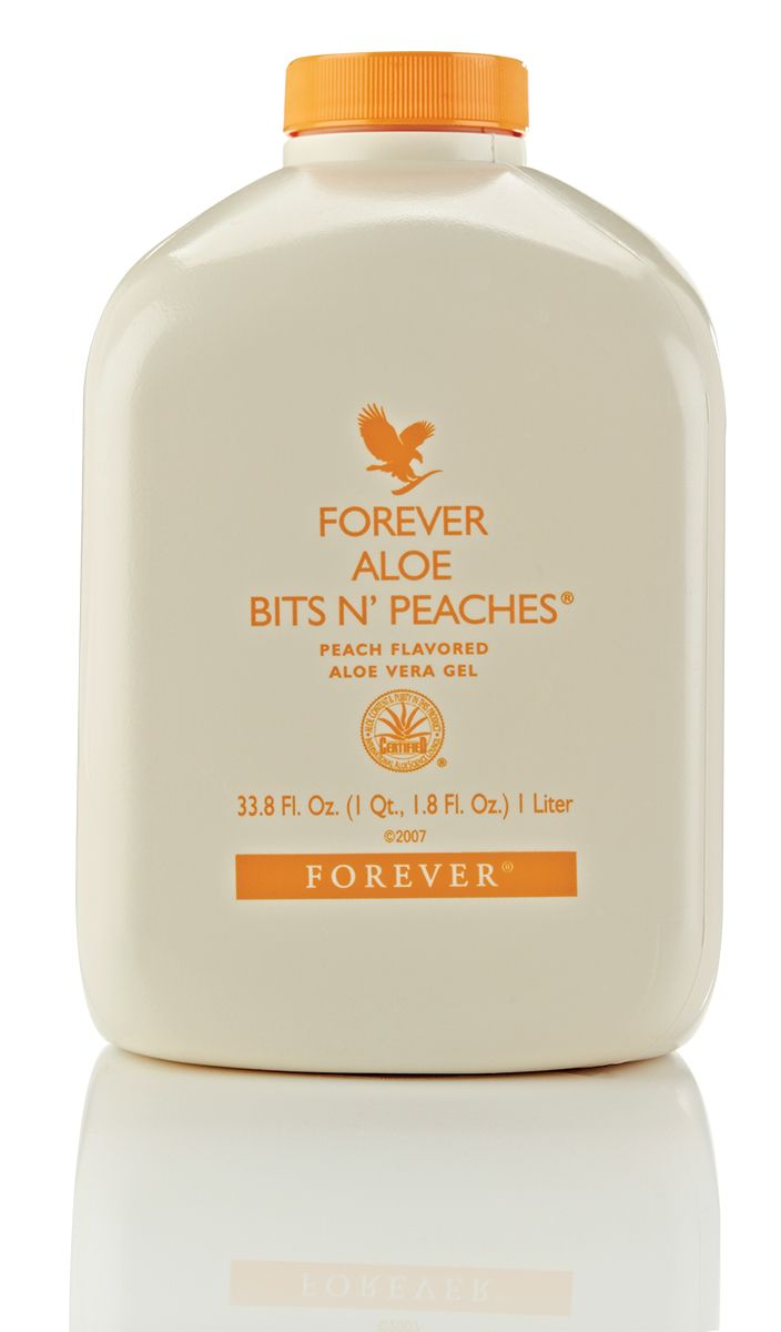 Forever Aloe Bits N' Peaches is a fresh and fruity version of our famous gel, suitable for the whole family!🍑 http://wu.to/bXfUPq