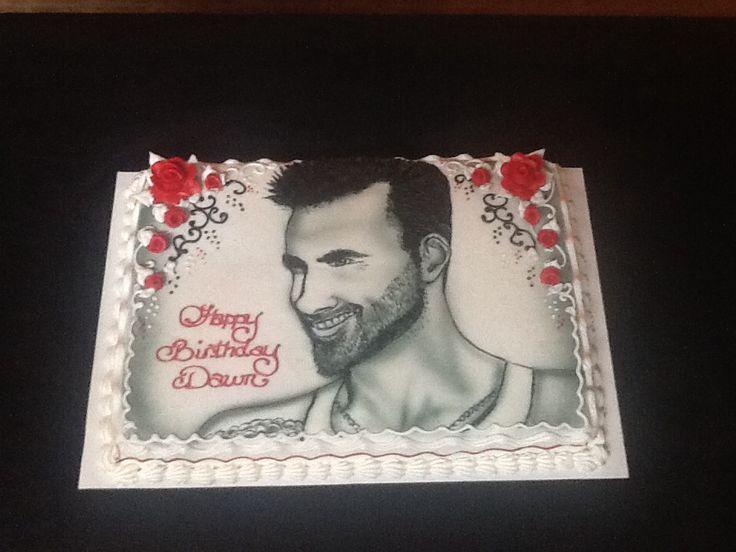 Best Ella Bday Images On Pinterest Adam Levine Maroon  And - Adam levine birthday cake