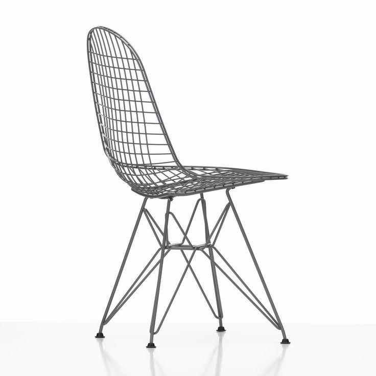 Vitra - Eames Wire Chair DKR Stuhl 42cm