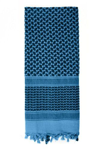 Practical shemagh scarf. Read 10 ways to use it here http://thesurvivalmom.com/2014/02/07/10-ways-use-shemagh-tactical-scarf/
