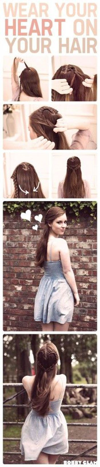 Easy Valentines Day Hairstyle Tutorials 2014 For Beginners Learners 1 Easy Valentines Day Hairstyle Tutorials 2014 For Beginners & Learners
