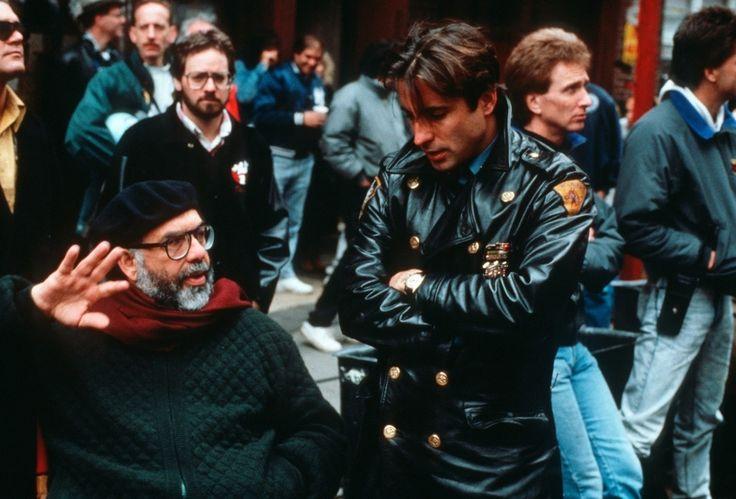 1990. Френсис Форд Коппола и Энди Гарсия на съемках «Крёстного отца 3»