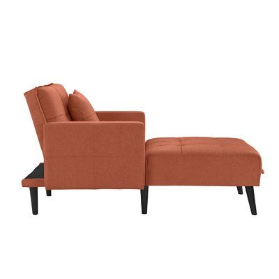 Walthall Chaise Lounge Upholstery: Rust - http://delanico.com/chaise-lounges/walthall-chaise-lounge-upholstery-rust-725767991/
