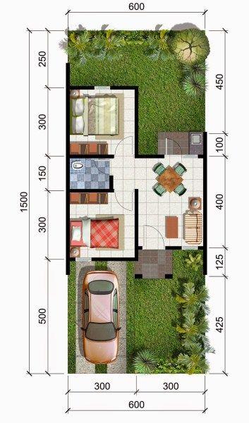 Bentuk Desain Rumah Minimalis Sederhana Type 36