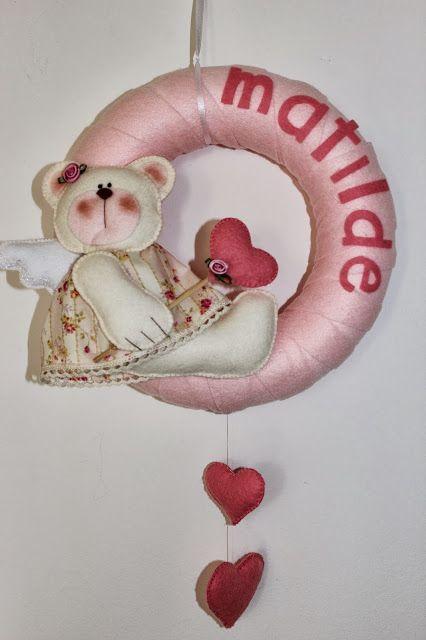 Una ghirlanda rosa...2!!