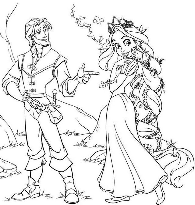 Best Disney Tangled Rapunzel Coloring Page For Little Girls Rapunzel Coloring Pages Tangled Coloring Pages Rapunzel Sketch