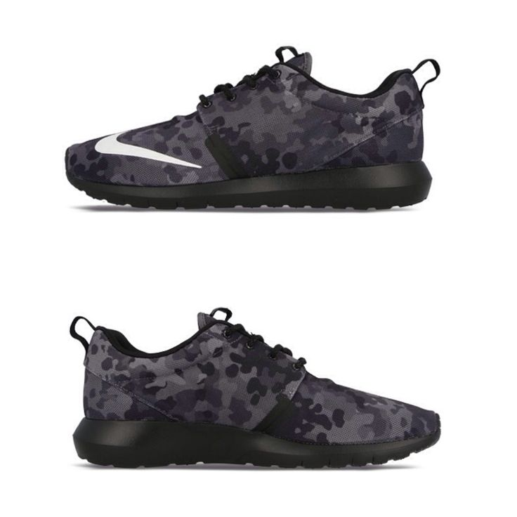 The #NIKE ROSHE RUN goes black ops with these excellent CAMO NM FB editions.