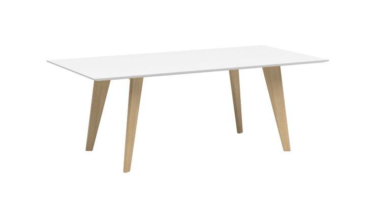 Stephano (1) by Iroko home . Modèle disponible en bois (chêne, noyer et wengé) et en bois laqué (basic ou tendance) Dimension : (H 720| L 1600 | P 800) - (H 720| L 2000 | P 1000) - H 720| L 2500 | P 1200)