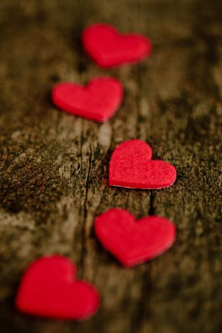 Follow the hearts...have a prize at the end or turn it into a 'quest'