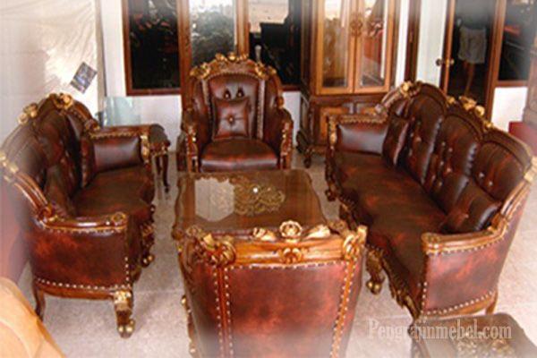desain ruang tamu dengan kursi tamu inggris