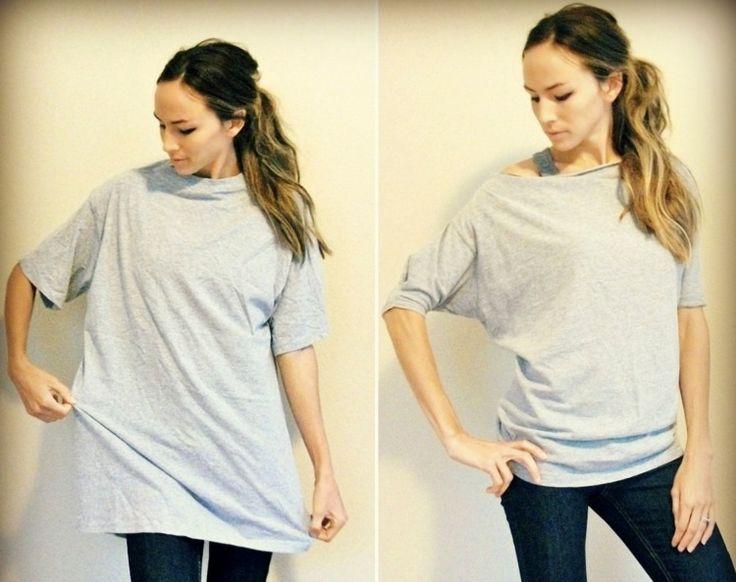 top femme original manches chauve-souris t-shirt
