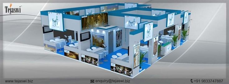 Corporate #Exhibition Stall Design | Business Exhibition Design http://www.tejaswi.co/exhibition-stall-design/exhibition/corporate-exhibition-stall-design/ via @tejaswiservices #CorporateStallDesign