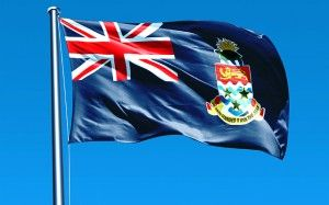 national flag of the cayman islands -