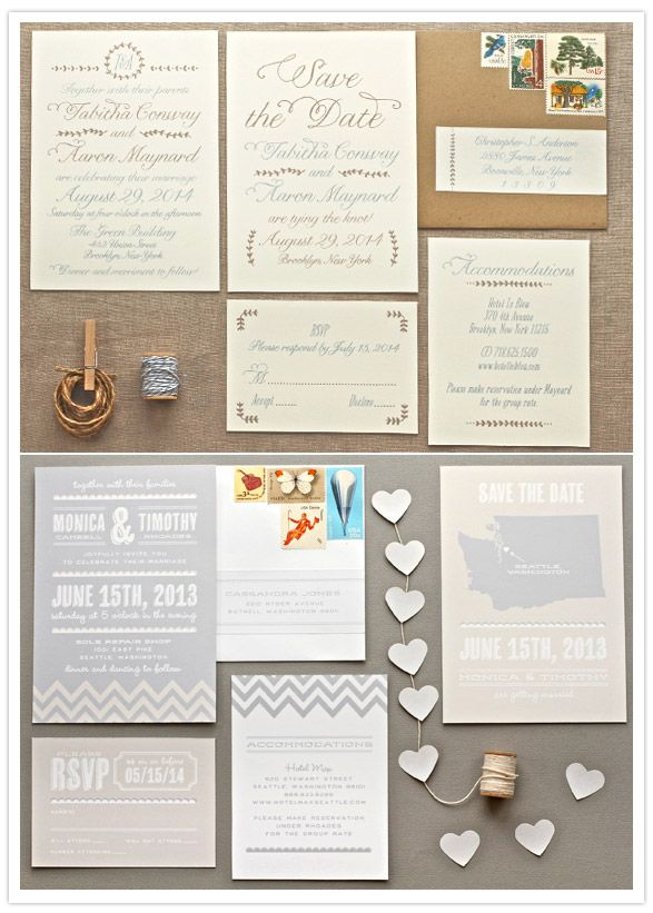 stationary: Kraft Paper + Chevron Wedding, The Scripts, Cream Paper, Wedding Invitations, Paper Envelopes, Invitations Ideas, Invitations Design, Tops Sets, Invitations Inspiration