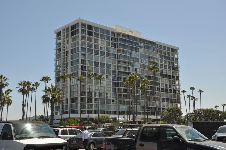 Moderne appartementen aan het strand in San Diego
