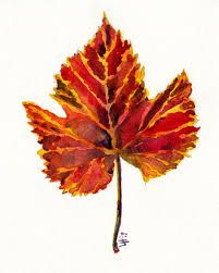 Image result for watercolor fall leaves