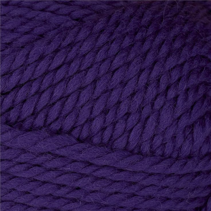 Patons Classic Wool Bulky Yarn (89310) Aster Purple