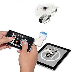 日本トラストテクノロジー、手のひらサイズのヘリコプターRC「ヘリラジ! for iPad/iPhone USB 赤外線 RC」01 BCNランキング
