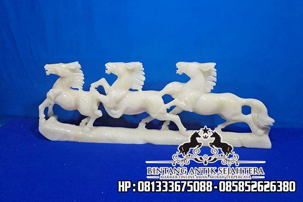 Jual Patung Kuda Marmer