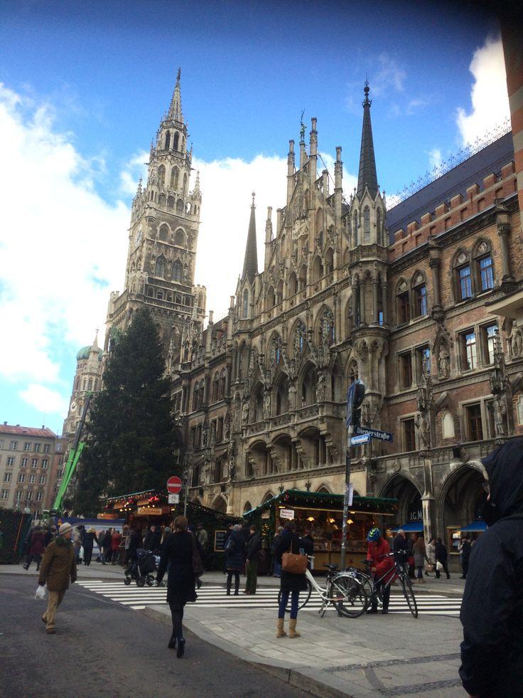 Marianplatz, Munich.