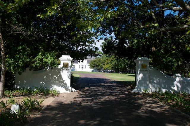 Africa travel accommodation Lanzerac, Stellenbosch, South Africa.