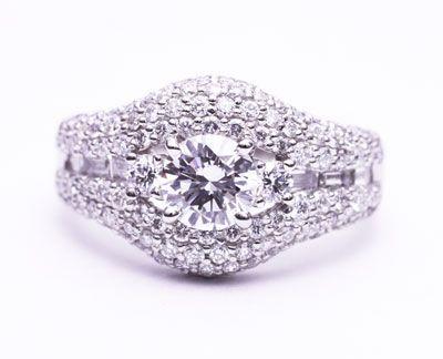 娘と一緒に選ぶ立て爪のダイヤモンドリングのリフォーム