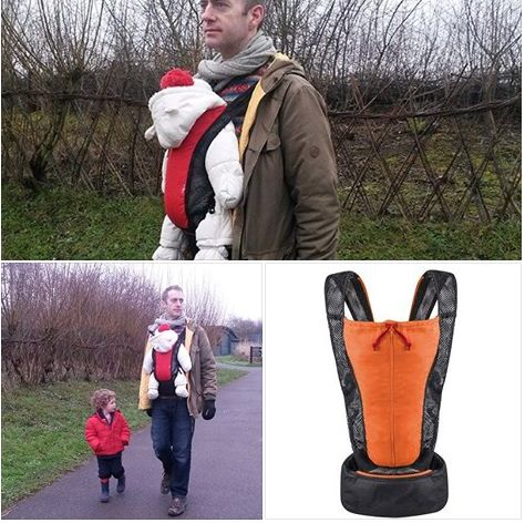 Phil & Teds Airlight baby carrier review - super light baby carrier that is cheap, secure and comfy for baby, but it only has two seating positions