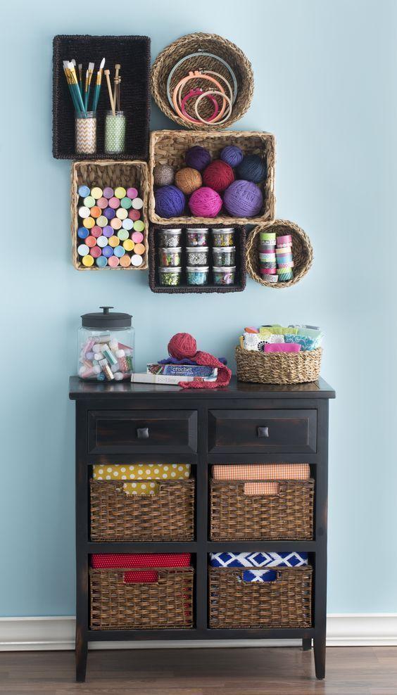 16 Clever Yarn Storage Ideas Yarn Storage Craft Room