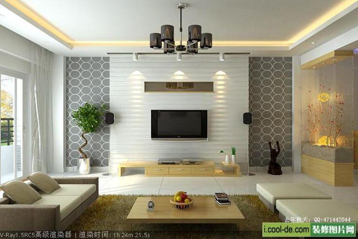 Living Room Decorating Ideas | Living room decor with TV Plasma design…
