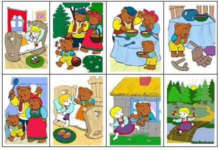 Занятия по сказке «Три медведя» помогут ребенку освоить такие понятия, как: большой, средний, маленький, одинаковый; помогут научиться выстраивать объекты в порядке возрастания и убывания признака; будут способствовать развитию памяти, мышления, речи.