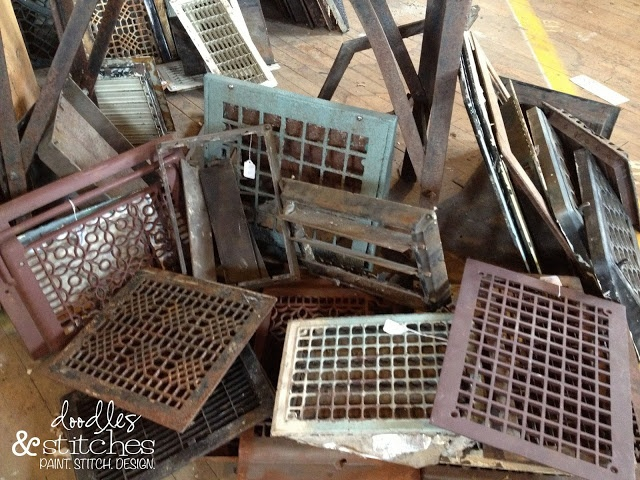 Old Vent And Radiator Covers At West End Salvage   How Cool R These?