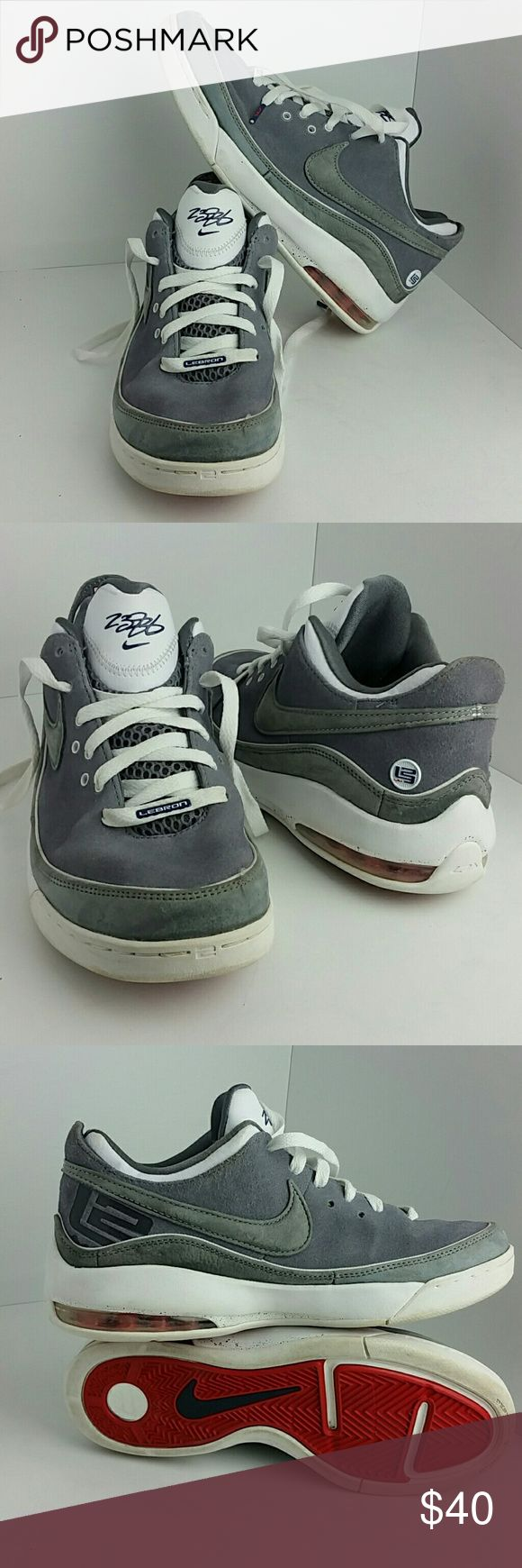NIKE AIR MAX LEBRON 7 VII LOW MEN'S SHOES IN GOOD CONDITION   SKE # SZ NIKE  Shoes Athletic Shoes
