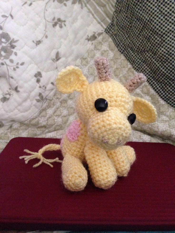 Jirafa crochet amigurumi