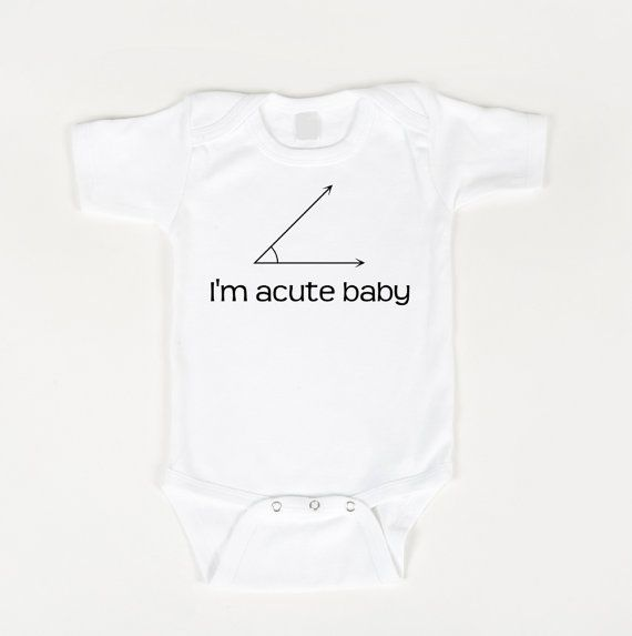 hahah need this for tiff : Math Teacher, Nerd Baby, Acut Baby, Baby Humor, Baby Bodysuit, Kid