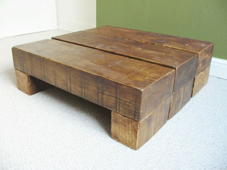 Chunky Wooden Coffee Table By TheCoolWoodCompany On Etsy, £195.00 Part 32