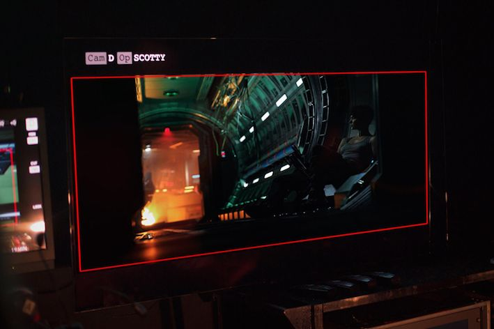 Premier aperçu de Katherine Waterston dans Alien Covenant