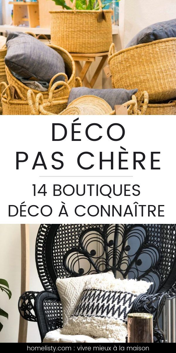 Top 14 der besten Online-Shops für Shopping und Dekoration   – Déco maison pas cher