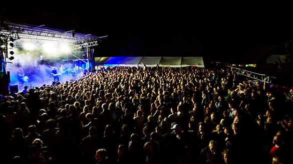 Danmarks Grimmeste Festival concert with Veto, © Danmarks Grimmeste Festival
