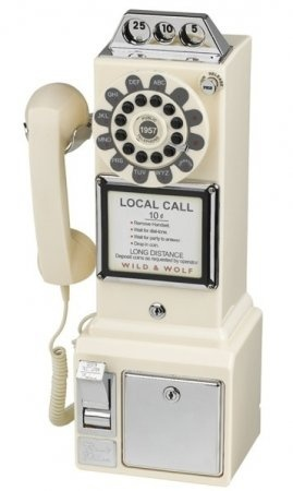 Retro Phones | Diner 1950's Phone Cream